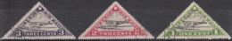 Liberia, 1936 - 1st Air Mail Service - Nr. C3A/C3B/C3C Usati° - Liberia
