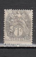 CRETE * YT N° 1 - Kreta (1902-1903)