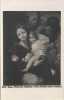 IT.- Roma - Rome. Pinacoteca Capitolina - Sacre Famiglia (Carlo Maratti). Devotie. 2 Scans. - Museum