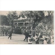 MLTTP0508CPA-LFTD116TMIPA. Tarjeta Postal Militar.INFANTERIA DE MARINA Con Banda De Musica.1902 - Patrióticos