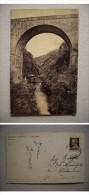 Cartolina/postcard Taceno (Tartavalle - Lecco) Ponte Della Pioverna. 1939 - Lecco