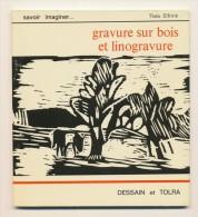 GRAVURE Sur BOIS & LINOGRAVURE - Loisirs Créatifs