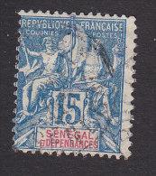 Senegal, Scott #42, Used, Navigation And Commerce, Issued 1892 - Oblitérés