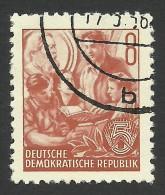 DDR, 8 pf. 1957, Sc # 158, Mi # 365N, used