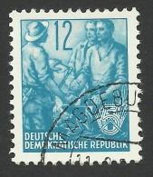 DDR, 12 pf. 1957, Sc # 160, Mi # 367N, used