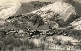 CPSM - VALLOIRE (73) - Vue Du Village En Hiver - Altri Comuni