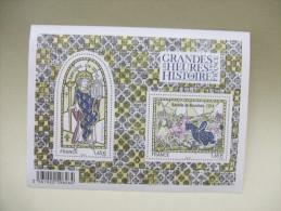 FRANCE - Bloc Feuillet BF Grandes Heures De L'Histoire De France : St Louis, Bataille De Bouvines (2014) N** - Sheetlets