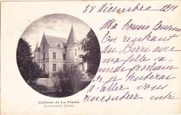 CPA 36 @ SAINT GAULTIER @ Château De La Plante - France