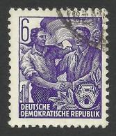DDR, 6 pf. 1953, Sc # 189, Mi # 407, used