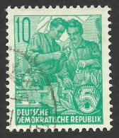 DDR, 10 pf. 1953, Sc # 191, Mi # 409, used