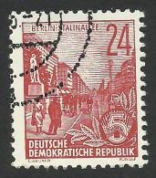 DDR, 24 pf. 1953, Sc # 196, Mi # 414, used