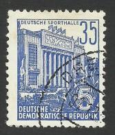 DDR, 35 pf. 1953, Sc # 199, Mi # 417, used