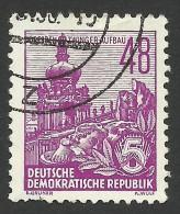 DDR, 48 pf. 1953, Sc # 201, Mi # 419, used