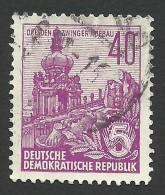DDR, 40 pf. 1955, Sc # 229, Mi # 456, used