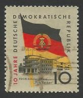 DDR, 10 pf. 1959, Sc # 457, Mi # 723, used