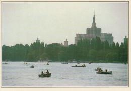 BUCAREST: LAGO E PARCO DI HERASTRAU      (NUOVA Con Descrizione Del Luogo Sul Retro) - Romania