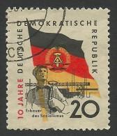 DDR, 20 pf. 1959, Sc # 459, Mi # 725, used