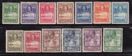 1932   YVERT  Nº 125 / 137 ,   SG - Nº 155 / 167  / * / - Sierra Leone (...-1960)