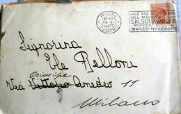 ITALIA REGNO 1926 - VEIII CENT 60 SU BUSTA - Storia Postale