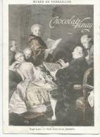 CHROMOS CHOCOLAT VINAY - MUSEE DE VERSAILLES - VAN LOO ET SA FAMILLE. - Chocolate