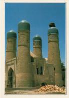 BUHARA:  LA  MADRASA TCHOR MINOR       (NUOVA Con Descrizione Del Luogo Sul Retro) - Uzbekistan