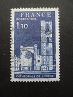 France N°1902 CATHEDRALE De LODEVE Oblitéré - Eglises Et Cathédrales