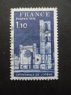 France N°1902 CATHEDRALE De LODEVE Oblitéré - Kerken En Kathedralen