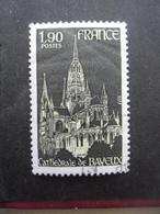 France N°1939 CATHEDRALE De BAYEUX Oblitéré - Kerken En Kathedralen