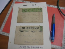 2 Envelopes - England. Military Censor From England To Holland Netherlands WEERT & S' Gravenhage - 1902-1951 (Rois)