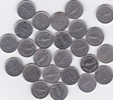 Lot De 25 Piéces 1 Centime épi ,Cinquiéme République,Graveur A.G.M.M. - A. 1 Centime