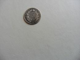 France : 20 Centimes 1860  BB  Napoléon III - France