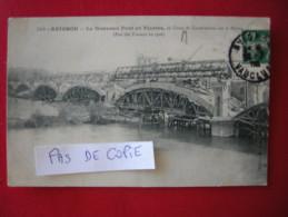 AVIGNON -110- Le Nouveau Pont En Pierres, En Cours De Construction Sur Le Rhône (état Des Travaux En 1908), éditeur Dexe - Avignon (Palais & Pont)