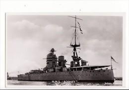 """Bateau De Guerre - H.M.S. """"Rodney"""" / Sellicks,Plymouth - Guerra"""