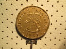 FINLAND 50 Pennia 1963   # 1 - Finland