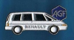 PIN´S //   . RENAULT ESPACE  ** AGF ** - Renault