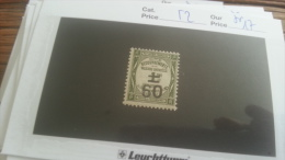 LOT 249701 TIMBRE DE FRANCE NEUF** N�52 VALEUR 17 EUROS