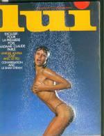 LUI N°136  Aslan Lauzier Shah Iran Moto Vélo Erotisme  Publicités Années 70 ( Tabac Parfum Automobile Alcoll ...) - Livres, BD, Revues