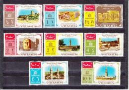 Yemen Nº Michel 476 Al 483 - Yemen