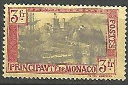 MONACO N� 101 NEUF* TTB LEGERE TRACE DE CHARNIERE / 2 SCANS