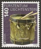 "LIECHTENSTEIN - EUROPA 2014-THEME ANNUEL- ""INSTRUMENTS DE MUSIQUE NATIONALES"" - SERIE De 1 V. - Europa-CEPT"