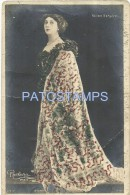 5634 ARTIST BELLA OTERO SPAIN 1868 - 1965 ACTRESS THEATRE DANCER AND SINGER OPERA BY REUTLINGER BREAK POSTAL POSTCARD - Künstler