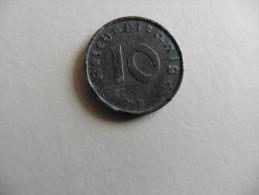 Allemagne : 10 Pfennig 1942 - [ 4] 1933-1945 : Third Reich