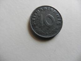 Allemagne : 1 0   Pfennig 1941  D  Deutsches Reich - [ 4] 1933-1945 : Third Reich