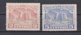 Paraguay 1962 Mi Nr  673 + 674 Columbus Mausoleum Postfris - Paraguay