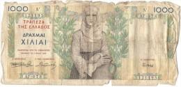 GREECE 1000 Drachmas 1935 (Grece, Drachmai, Drachmes, Griechenland, Griekenland, Grecia) - Greece