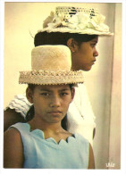 Oceanie - Polynesie Française - Tahiti - Jeunes Tahitiennes ( Young Tahitian Maidens (2scann) - Französisch-Polynesien