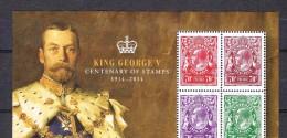 Australia Used 2014 George V Sheet - Australia