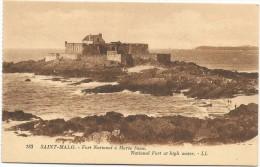I2807 Saint Malo - Fort National à Mareé Basse / Non Viaggiata - Saint Malo