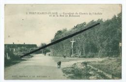 CPA - Fort Mahon Plage - Carrefour Du Chemin De L'Authie Et De La Rue De Robinson - Fort Mahon