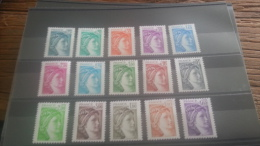 LOT 249921 TIMBRE DE FRANCE NEUF** LUXE